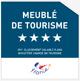 4 Etoiles Classification du ministère chargédu tourisme.